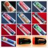 厂家批发订单链接 聆听者系列塑料LED充电手电筒/头灯/台灯