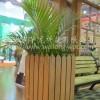 供应园林设施,PE木塑,WPC防腐防晒木花箱